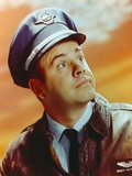 Tim Conway Portrait in Pilot Uniform Photo by  Movie Star News