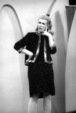Joan Rivers Thinking in Classic Photo by  Movie Star News