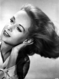 Tippi Hendren Portrait in Black and White Photo by  Movie Star News