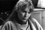 Mia Farrow Posed in Black and White Photo by  Movie Star News