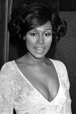 Diahann Carroll Portrait wearing Wide V-neck Photo by  Movie Star News