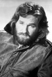 Kurt Russell Posed in Leather Jacket With White Background Photo by  Movie Star News