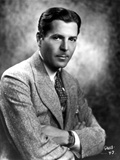 Warner Baxter Posed in Suit Photo by  Movie Star News