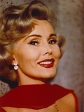 Zsa Zsa Gabor in a Red Shawl Close Up Portrait Photo by  Movie Star News