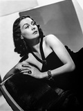 Vivien Leigh in Black Dress Classic Portrait Photo by  Movie Star News