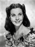 Vivien Leigh smiling in Portrait Photo by  Movie Star News