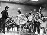 West Side Story People Dancing and Cheering Foto von  Movie Star News