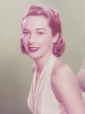 Vera Miles smiling in Dress Portrait Photo by  Movie Star News