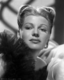 Rita Hayworth Head Shot Portrait Photo by Robert Coburn