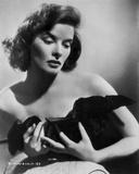 Katharine Hepburn wearing Black Gown Portrait Photo by Robert Coburn