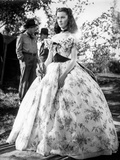 Vivien Leigh in A Floral Dress Photo by  Movie Star News