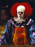 Tim Curry Posed in Clown Outfit Photo by  Movie Star News