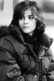 Ally Sheedy Looking to the Right in Black Jacket in Portrait Photo by  Movie Star News