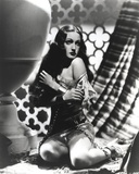 Dorothy Lamour Chained Hands in Black and White Photo by  Movie Star News