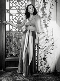 Vivien Leigh posed in Floor-Length Dress Photo by  Movie Star News