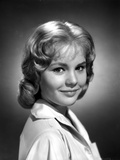 Tuesday Weld smiling in Black and White Photo by  Movie Star News