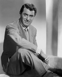 Cary Grant sitting Down In Suit With Arm On Leg  High Qu... Photo by E Bachrach