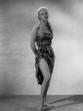 Virginia Mayo standing in Dress Photo by  Movie Star News