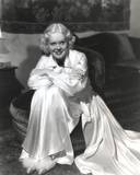 Alice Faye on a Silk Dress Portrait Photo by  Movie Star News