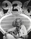 Alice Faye sitting on a Chair Showing a Smile Photo by  Movie Star News