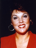 Tyne Daly Black Background Close Up Portrait Photo by  Movie Star News