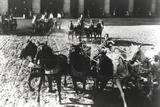 Charlton Heston Riding Horse-Drawn Vehicle in Gladiator Movie Photo by  Movie Star News