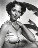 Dorothy Dandridge Portrait in Lingerie Photo by  Movie Star News
