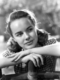 Terry Moore on a Checkered Top Portrait Photo by  Movie Star News