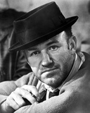 Gene Hackman Posed in Cowboy Attire With Hat Photo by  Movie Star News