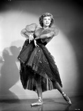 Vera Ellen on a Lace Dress and Dancing Ballet Portrait Photo by  Movie Star News