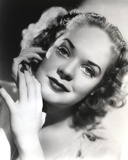 Alice Faye Hand on Chin Portrait Photo by  Movie Star News