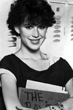 Molly Ringwald Portrait smiling in Black Blouse Photo by  Movie Star News