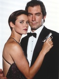 Timothy Dalton in Tuxedo Couple Portrait Photo by  Movie Star News