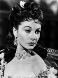 Vivien Leigh With her Hair Up, in Diamond and Pearl Encrusted Jewels Photo by  Movie Star News
