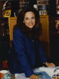 Valerie Harper Posed in Blue Suit Photo by  Movie Star News