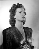 Maureen O'Hara Posed in Black Gown Photo by E Bachrach