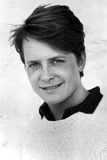 Michael J Fox in Sweater With White Background Photo by  Movie Star News