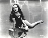 Dorothy Lamour Chained Hands in Classic Photo by  Movie Star News