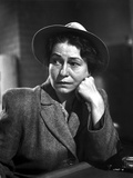 Thelma Ritter Leaning Chin On Hand in Classic Photo by  Movie Star News
