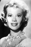 Dinah Shore Portrait in Black and White Photo af Movie Star News