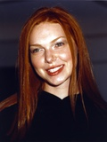 That 70s Show Laura Prepon Portrait in Black Dress Photo by  Movie Star News