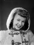 Vera Ellen on a Furry Coat Portrait Photo by  Movie Star News