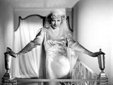 Una Merkel on a Silk Dress and standing Portrait Photo by  Movie Star News