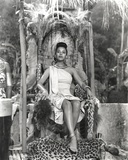 Dorothy Dandridge Seated in Classic with Amazon Attire Photo by  Movie Star News