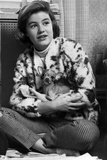 Patty Duke on Printed Top Carrying Chihuahua Photo by  Movie Star News