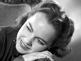 Terry Moore Portrait in Classic Photo by  Movie Star News
