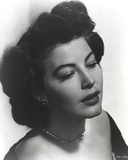 Ava Gardner Close Up Portrait with Silver Necklace Photo by  Movie Star News