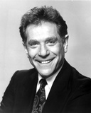 George Segal in Black Suit With Black and White Background Photo af Movie Star News