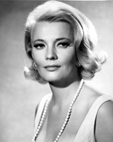 Gena Rowlands Posed in White Photo by  Movie Star News