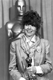 Diane Keaton Holding Trophy in Classic Photo by  Movie Star News